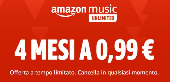 Offerta Amazon Music